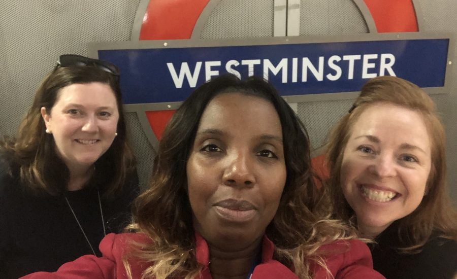 The SPACE Team at Westminster Tube Station