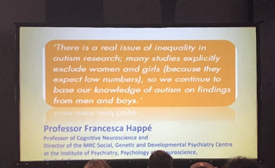 quote by Professor Francesca Happe