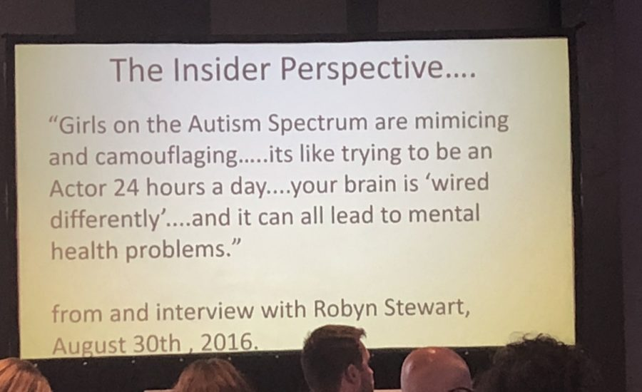 Quote about Autism in Girls