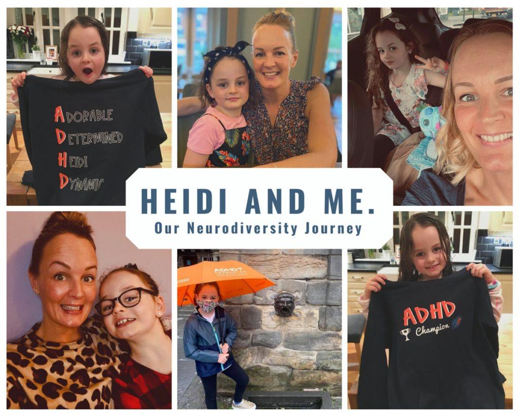 Heidi and Nichola Photo Collage